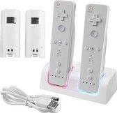 Dock Charger Station Voor De Nintendo Wii Controller Dock - USB Docking Met Batterij Accu Pack - Op Laadstation