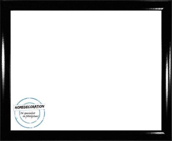 Homedecoration Colorado – Fotolijst – Fotomaat – 20 x 48 cm – Hoogglans zwart