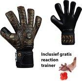 Elite - Aztlan - Keepershandschoenen - inclusief Reaction trainer & gratis Elite Andalucia sleutelhanger - maat 9 - voetbal keepershandschoenen - keepershandschoen - Goalkeeper handschoen