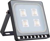 Profile LED Schijnwerper - Voor buiten - IP67 - 20W - Warm wit licht - Zwart