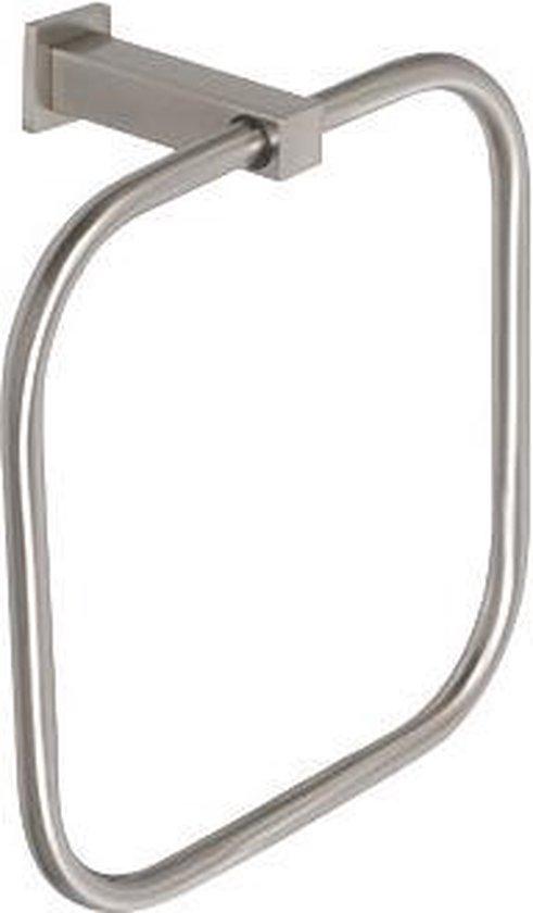 Handdoekring Inox Plieger-Cube