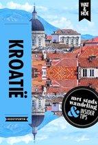 Boek cover Wat & Hoe Reisgids  -   Kroatië van Wat & Hoe Hoogtepunten