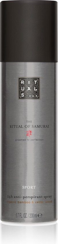 RITUALS The Ritual of Samurai Deodorant Spray Sport - 200 ml - Anti-Perspirant
