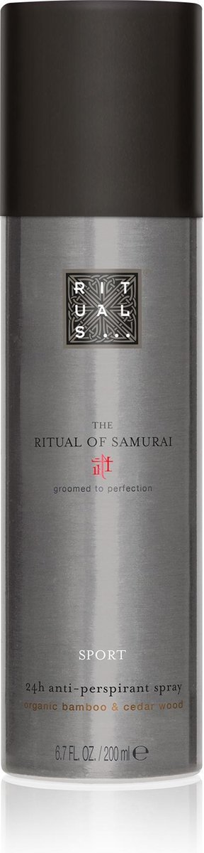 RITUALS The Ritual of Samurai Anti-Perspirant Spray Sport 24h - 200 ml