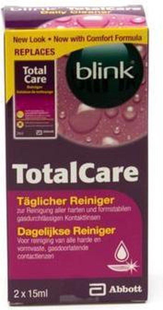 TotalCare Cleaner - 30 ml - Lenzenvloeistof - 2 flacons van 15ml