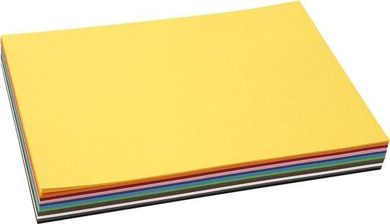 Afbeelding van Creativ karton, A4 21x30 cm, 120 assorti vel speelgoed