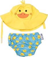 Zoocchini UV zwemluier setje Puddles the Duck 3-6 maanden