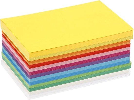 Afbeelding van Happy karton, A6 10,5x15 cm, kleuren assorti, 300 assorti vel speelgoed