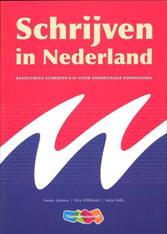 Boek cover Schrijven in Nederland van Fouke Jansen (Paperback)