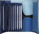 BURKELY Multicolour - Portemonnee - Blauw Multi