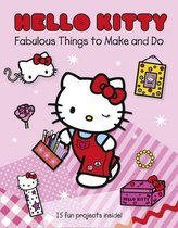 Boek cover Hello Kitty Fabulous Things to Make and Do Book van Onbekend