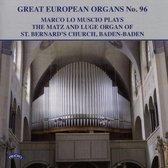 Great European Organs No. 96