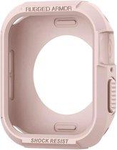 Spigen Apple Watch 4 (40mm) Rugged Armor Hoesje - Rose Goud