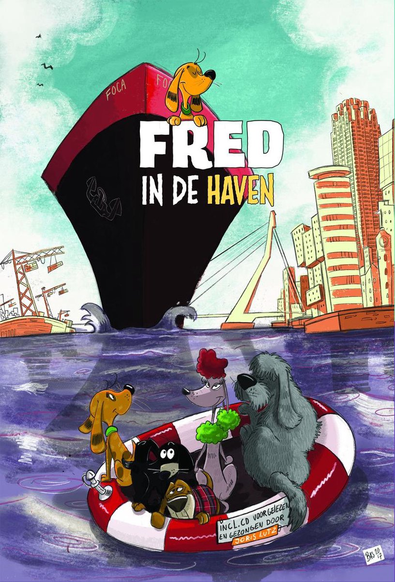 Fred 1 - Fred in de haven