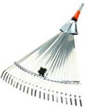 GARDENA Combisysteem bladhark - werkbreedte verstelbaar 30/50 cm - aanbevolen steellengte 130 cm