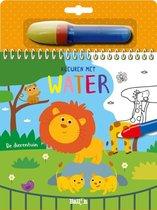 Kleuren met water: de Dierentuin