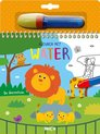 Afbeelding van het spelletje Kleuren met water: de Dierentuin