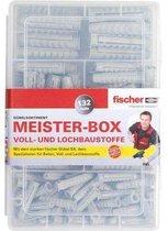 Fischer Pluggenset DHZ box met UXR 6-8 pluggen+schroeven+haken 518526