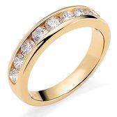 Orphelia RD-3047/52 - Ring - geelgoudkleurige 18 Karaat - Diamant 1.00 ct
