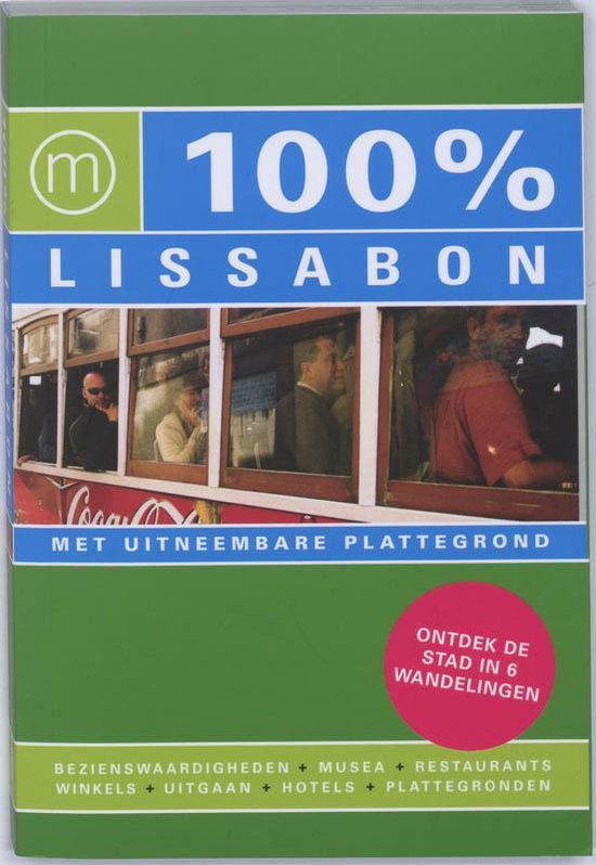 Cover van het boek '100% Lissabon' van C. Coenen en M. de Louw