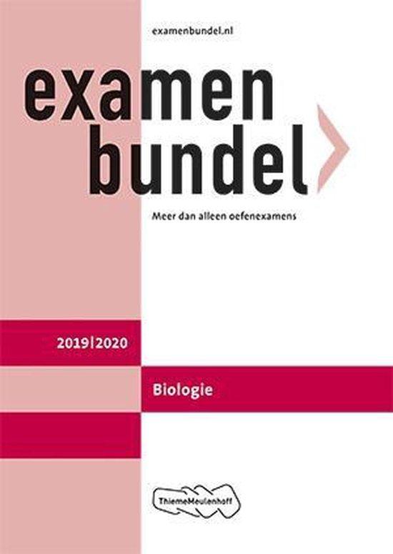 Boek cover Examenbundel vwo Biologie 2019/2020 van E.J. van der Schoot (Paperback)