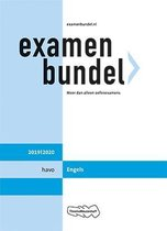 Boek cover Examenbundel havo Engels 2019/2020 van C. van Putten