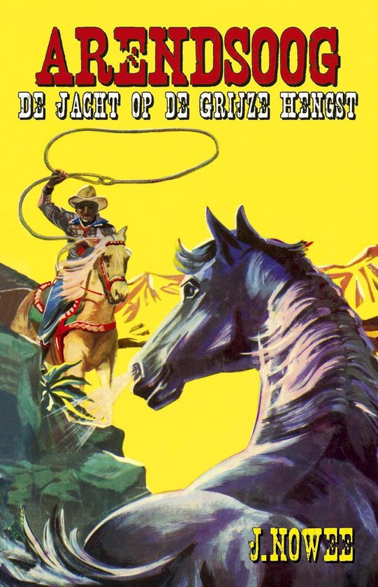 Boek cover De jacht op de grijze hengst van Jan Nowee (Onbekend)