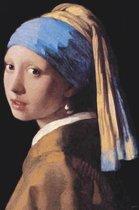 Meisje van Vermeer kunst Meisje met de Parel Large luxe uitvoering poster 70x100cm.