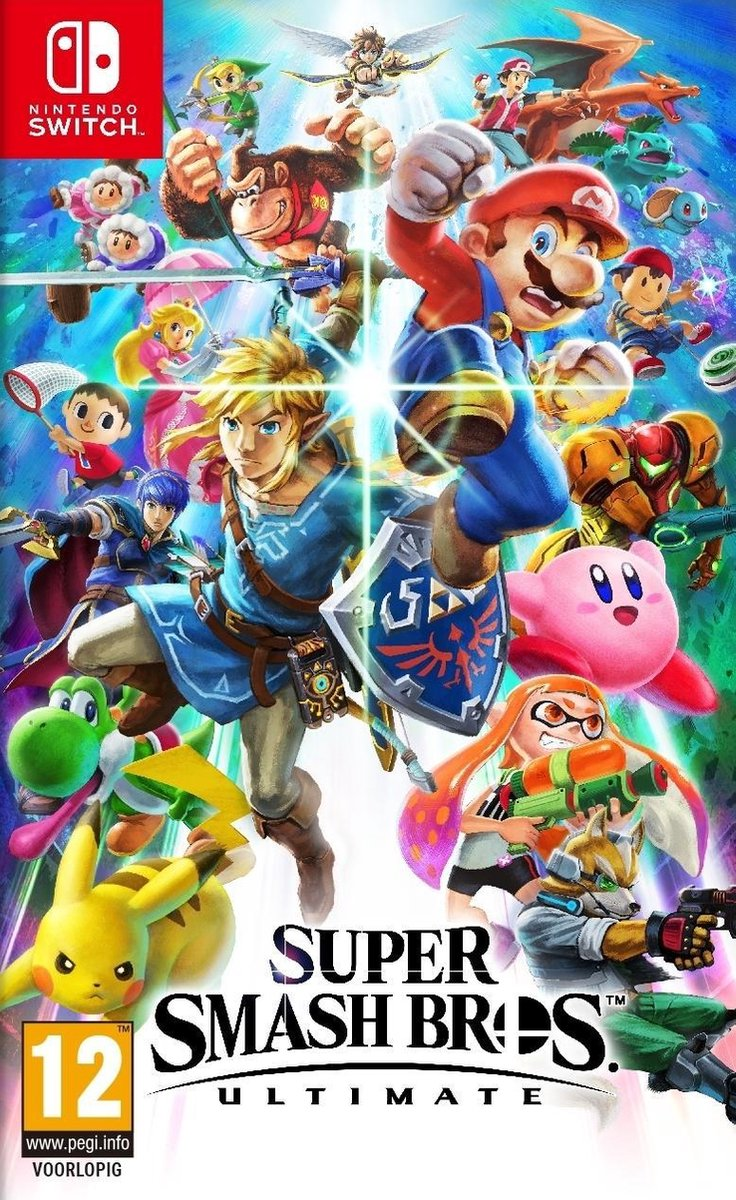 Super Smash Bros. Ultimate - Switch - Nintendo