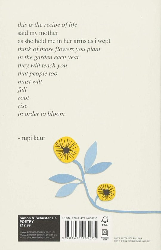 The The Sun and Her Flowers - Rupi Kaur