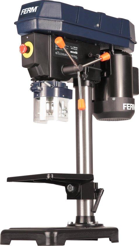 FERM Tafelboormachine – Kolomboor – 350W – Max. boordiepte: 52MM – 5 Snelheidsstanden