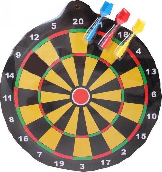 Afbeelding van het spel Jonotoys Magnetisch Dartbord 25 Cm Met 3 Pijlen