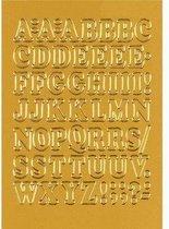 Huismerk Herma 4183 Etiket met letters 12mm Goud
