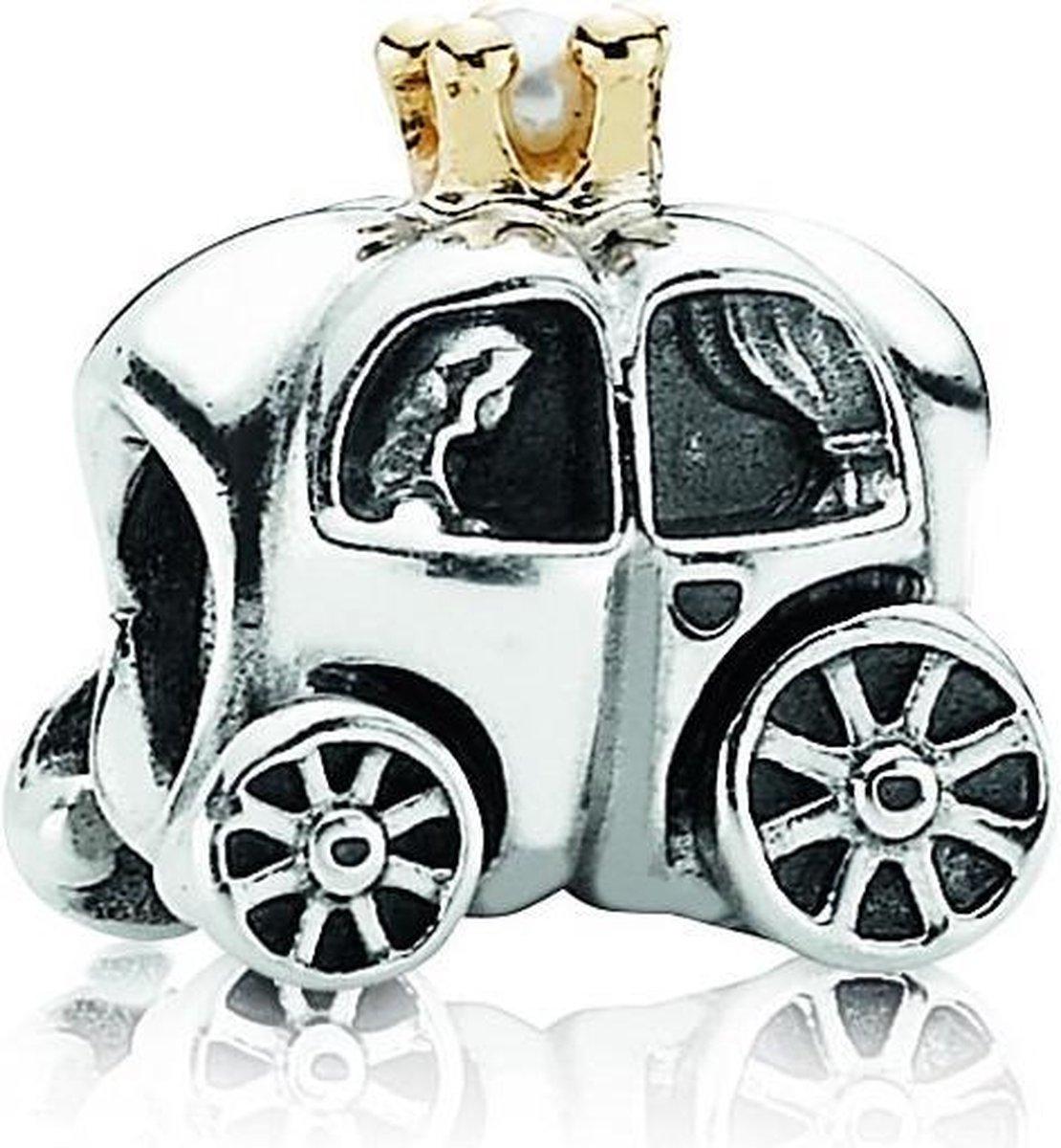 Pandora Bedel Moments - Koets - Zilveren bedel - Pandora