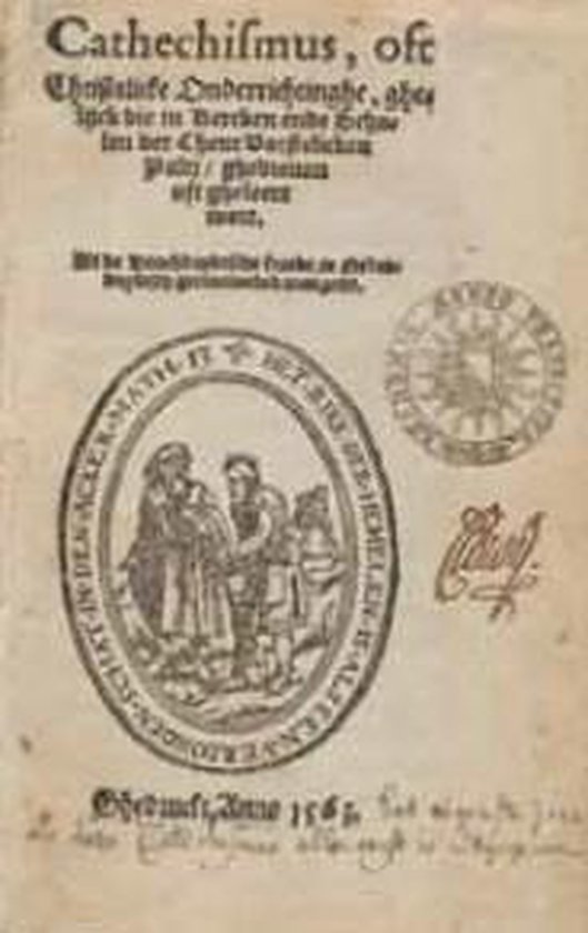 Heidelbergse catechismus 1563 ned ed - Zacharias Ursinus |