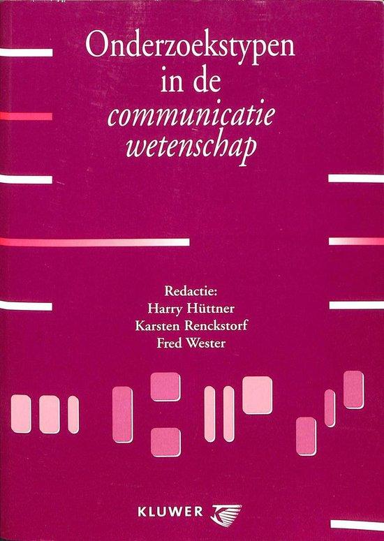 Onderzoekstypen in de communicatiewetenschap - none  