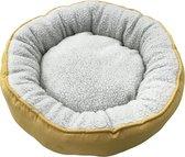 Adori Mand Donut Palmas - Kattenmand - Geel - 50 cm