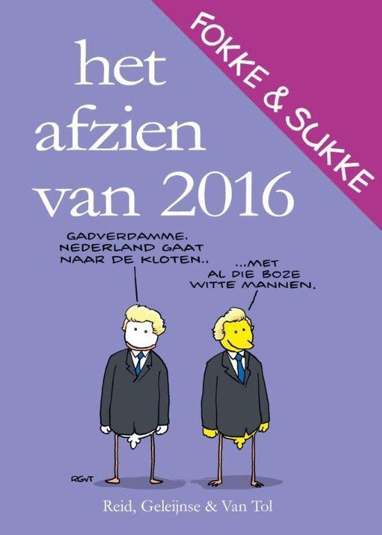 Boek cover Fokke & Sukke  -   Het afzien van 2016 van Reid (Paperback)