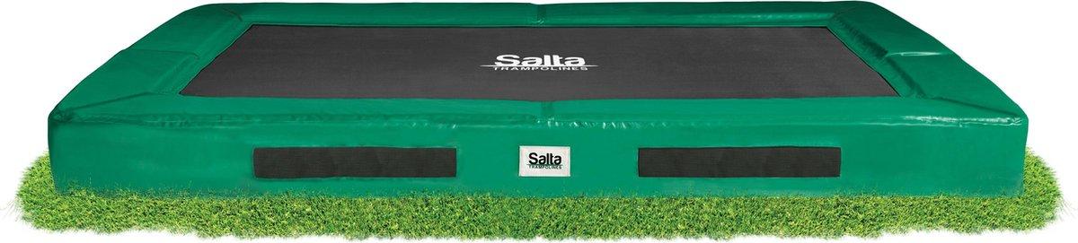 Salta Excellent Ground 153 x 213 cm Groen - Trampoline - Inground - Rechthoek