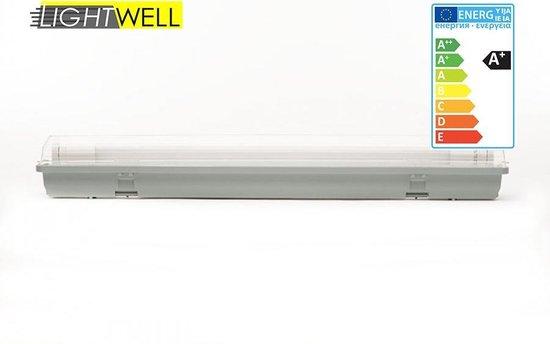 2x Waterdichte TLED armatuur incl. LED buis 60cm
