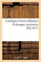 Catalogue d'une collection d'estampes anciennes