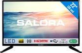 Salora 22LED1600 - Televisie - LED - Full HD - 22 Inch - Analoog - HDMI - 12 Volt