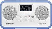 Sangean DPR-77 - Radio met DAB+ - Wit/Blauw