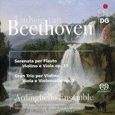 Ludwig van Beethoven: Serenata Op. 25; Gran Trio Op. 3