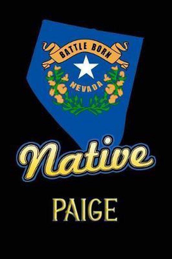Nevada Native Paige