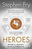 Boek cover Heroes van Stephen Fry (Onbekend)