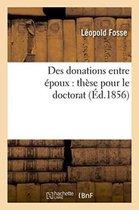 Des donations entre epoux