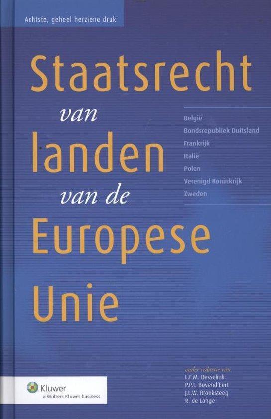 Het staatsrecht van landen van de Europese Unie - none pdf epub