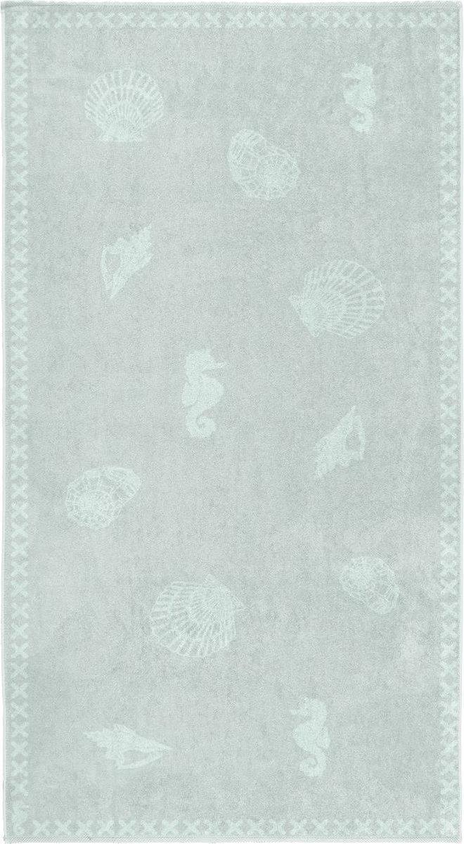Seahorse Shells Strandlaken XL - 100x200 cm - Mist