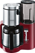 Siemens AromaSensePlus TC86504 - Koffiezetapparaat - Rood